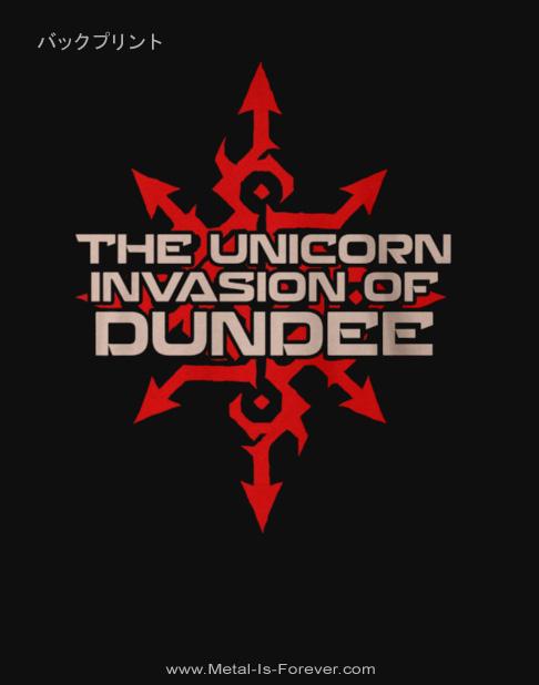 GLORYHAMMER -グローリーハンマー- THE UNICORN INVASION OF DUNDEE 「ザ・ユニコーン・インヴェイジョン・オブ・ダンディー」 レッド・ロゴ レディースTシャツ