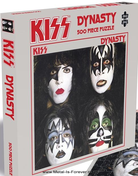 KISS (キッス) DYNASTY 「地獄からの脱出」 ジグソーパズル