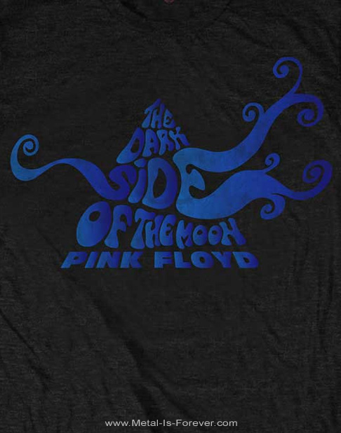 PINK FLOYD (ピンク・フロイド) THE DARK SIDE OF THE MOON 「狂気」 スワール Tシャツ