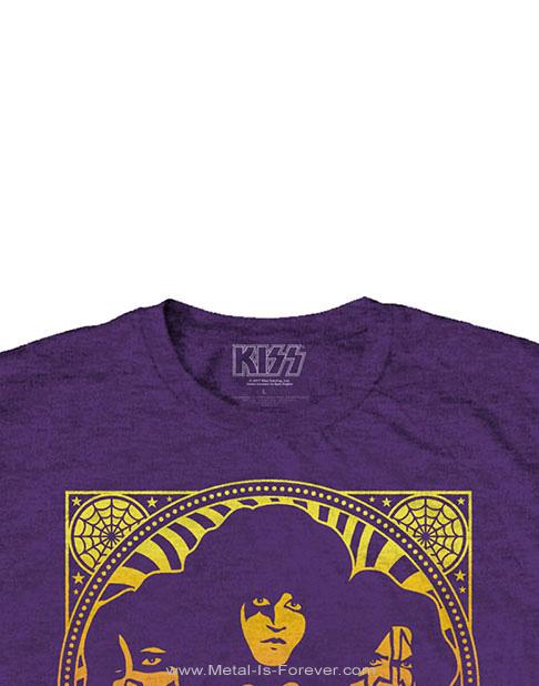 KISS (キッス) GRADIENT GROUP 「グラディエント・グループ」 Tシャツ(紫)