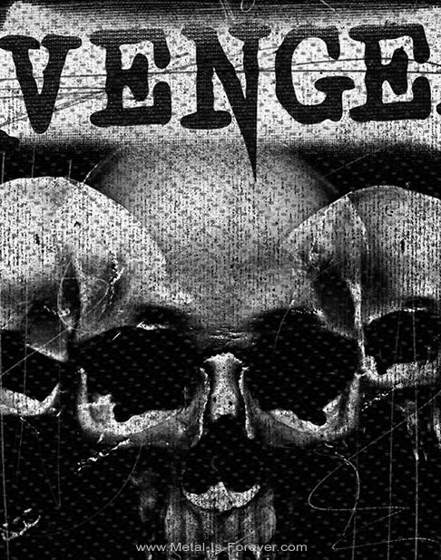 AVENGED SEVENFOLD (アヴェンジド・セヴンフォールド) 3 SKULLS 「3・スカル」 ワッペン