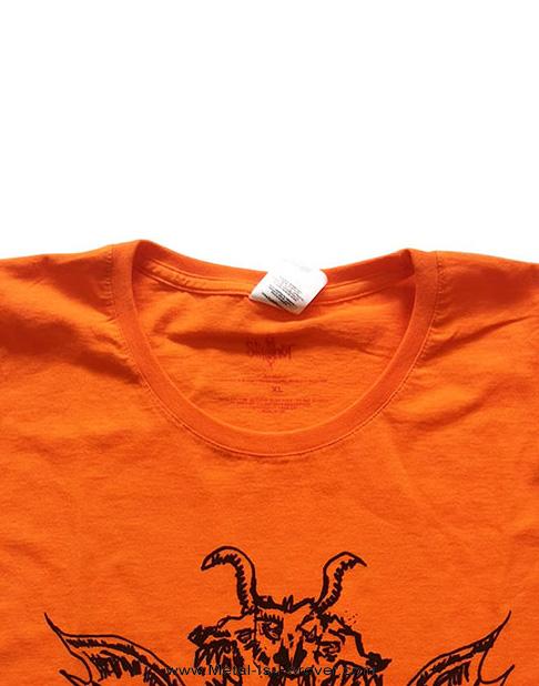 SLIPKNOT (スリップノット) WINGED DEVIL 「ウイング・デヴィル」 レディースTシャツ(オレンジ)