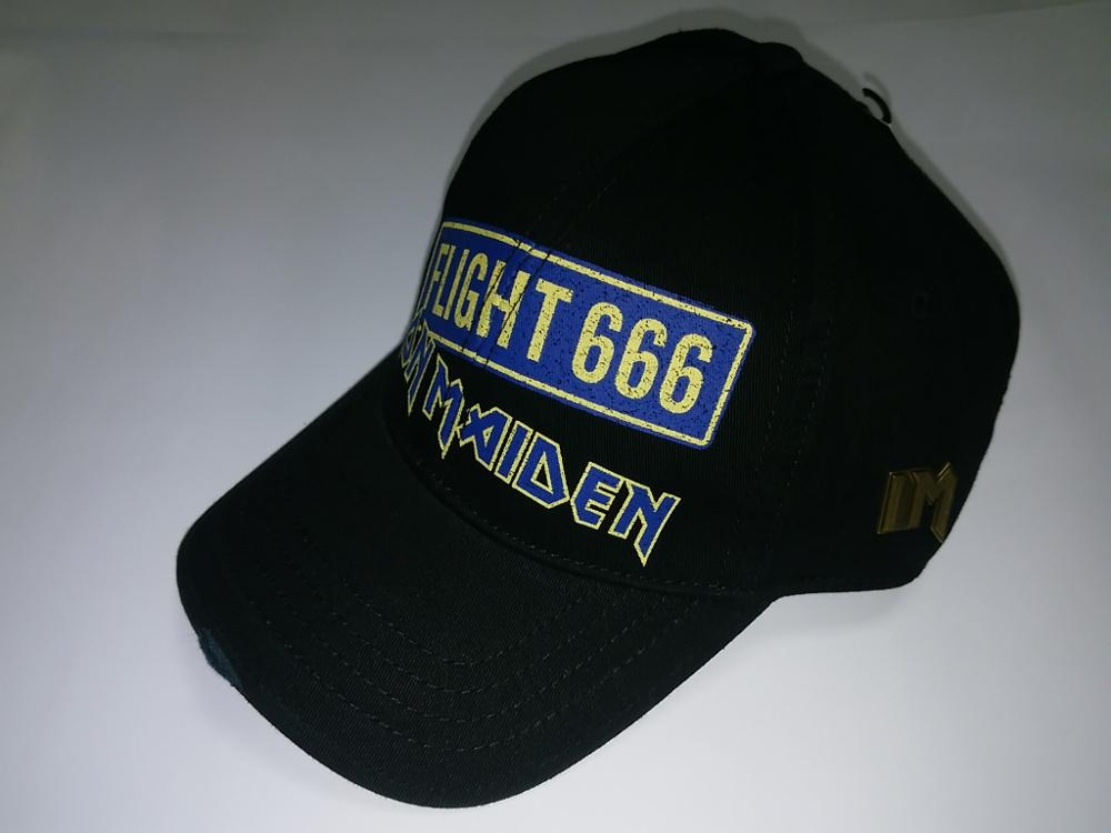 【在庫あり商品】IRON MAIDEN -アイアン・メイデン- FLIGHT 666 「フライト666」 キャップ