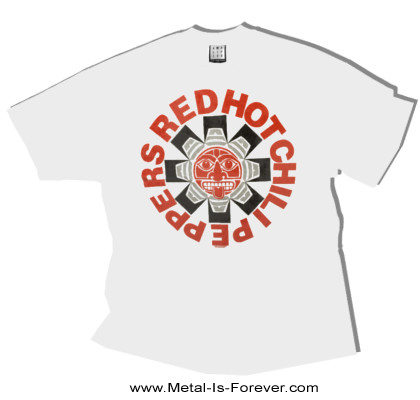 RED HOT CHILI PEPPERS -レッド・ホット・チリ・ペッパーズ- AZTEC 「アステカ」 Tシャツ(白)