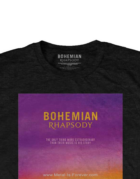 QUEEN -クイーン- BOHEMIAN RHAPSODY 「ボヘミアン・ラプソディ」 Tシャツ