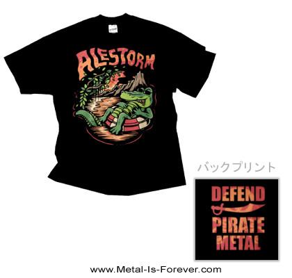 ALESTORM -エイルストーム- ALIGATOR 「アリゲーター」 Tシャツ
