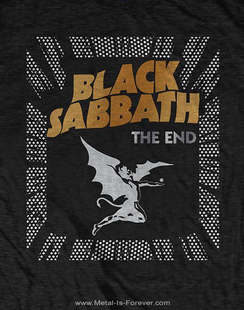 BLACK SABBATH (ブラック・サバス) THE END DEMON 「ジ・エンド・デーモン」 Tシャツ