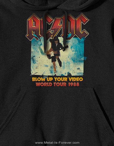 AC/DC (エーシー・ディーシー) BLOW UP YOUR VIDEO 「ブロウ・アップ・ユア・ビデオ」 パーカー