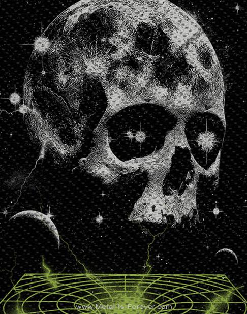 AVENGED SEVENFOLD (アヴェンジド・セヴンフォールド) VORTEX SKULL 「ボルテックス・スカル」 ワッペン