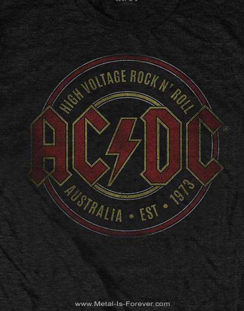 AC/DC -エーシー・ディーシー- EST. 1973 「エスト・1973」 Tシャツ