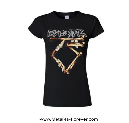 TWISTED SISTER (トゥイステッド・シスター) BONE LOGO 「ボーン・ロゴ」 レディースTシャツ