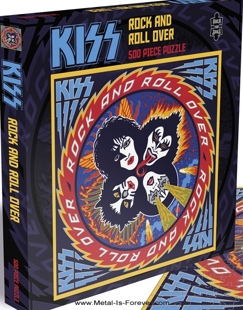 KISS (キッス) ROCK AND ROLL OVER 「地獄のロックファイアー」 ジグソーパズル