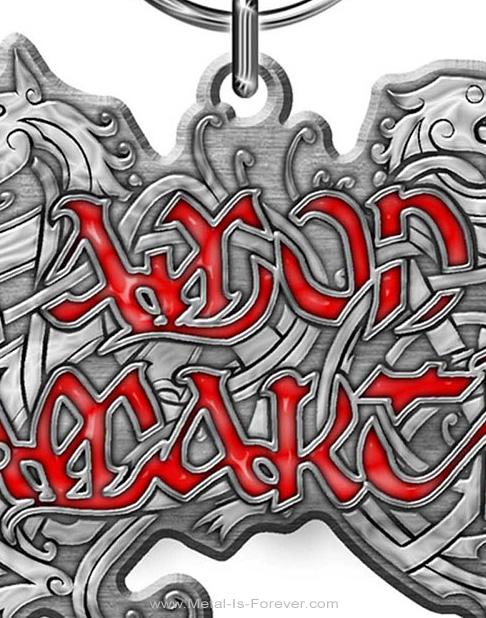 AMON AMARTH (アモン・アマース) DRAGON LOGO 「ドラゴン・ロゴ」 キーチェーン
