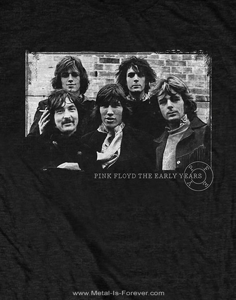 PINK FLOYD (ピンク・フロイド) THE EARLY YEARS 5 PIECE 「ジ・アーリー・イヤーズ・5ピース」 Tシャツ