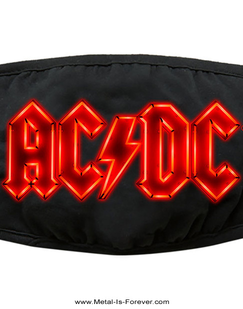 AC/DC (エーシー・ディーシー) NEON LOGO 「ネオン・ロゴ」 マスク
