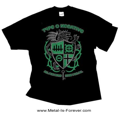 TYPE O NEGATIVE (タイプ・オー・ネガティヴ) WOLF CREST 「ウルフ・クレスト」 Tシャツ