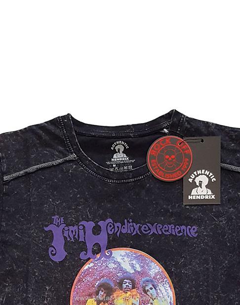 JIMI HENDRIX (ジミ・ヘンドリックス) ARE YOU EXPERIENCED 「アー・ユー・エクスペリエンスト?」 スノーウォッシュ Tシャツ