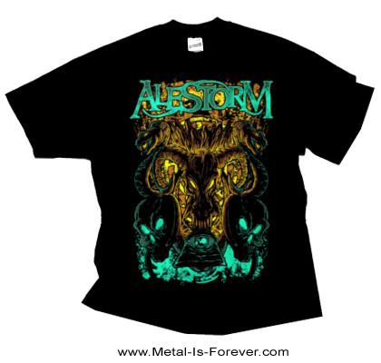 ALESTORM -エイルストーム- SERPENT SKULLS 「サーペント・スカル」 Tシャツ