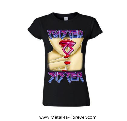 TWISTED SISTER (トゥイステッド・シスター) LOVE IS FOR SUCKERS 「ラヴ・イズ・フォー・サッカーズ」 レディースTシャツ