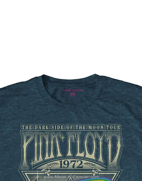PINK FLOYD (ピンク・フロイド) LIVE AT CARNEGIE HALL POSTER 1972 「ライヴ・アット・カーネギー・ホール・ポスター・1972」 Tシャツ(デニム・ブルー)