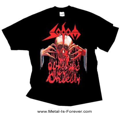 SODOM (ソドム) OBSESSED BY CRUELTY 「オブセスト・バイ・クルエルティ」 Tシャツ