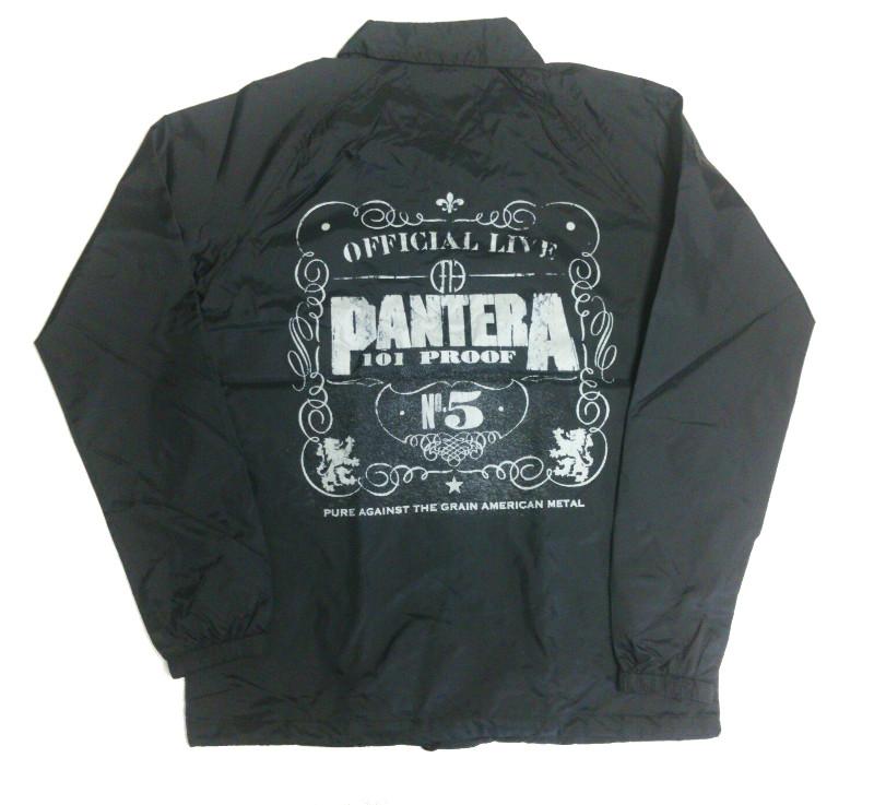 【在庫有り商品】PANTERA -パンテラ- OFFICIAL LIVE 101 PROOF 「ライヴ〜狂獣」 ウインドブレーカー Sサイズ