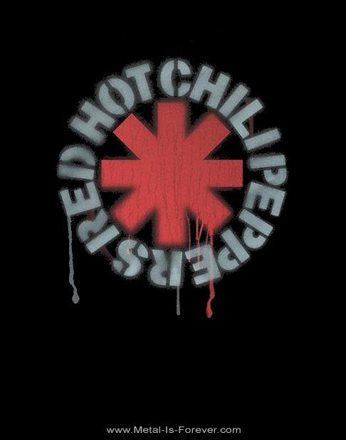 RED HOT CHILI PEPPERS -レッド・ホット・チリ・ペッパーズ- STENCIL ASTERISKS  「ステンシル・アスタリスク」 レディース・タンクトップ