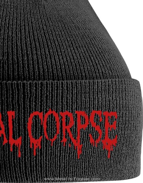 CANNIBAL CORPSE -カンニバル・コープス- LOGO 「ロゴ」 ニットキャップ