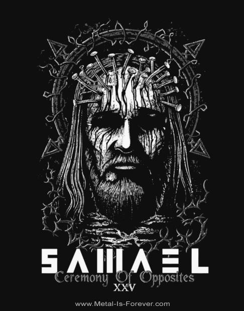 SAMAEL -サマエル- CEREMONY OF OPPOSITES 「セレモニー・オブ・オポジッツ」 フロント Tシャツ