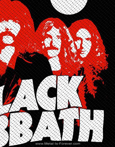BLACK SABBATH (ブラック・サバス) RED PORTRAITS 「レッド・ポートレート」 ワッペン