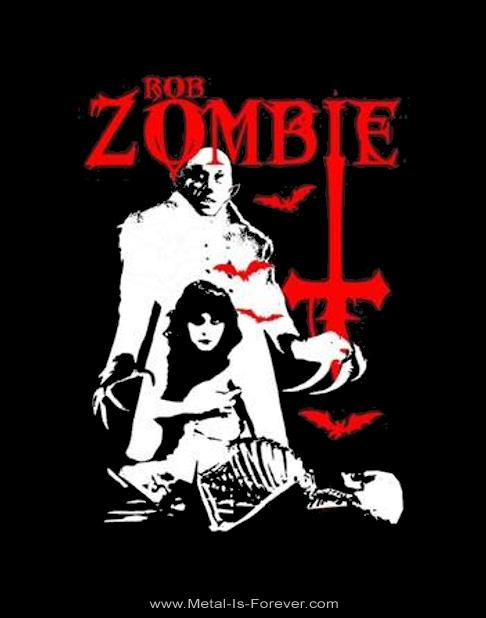 ROB ZOMBIE (ロブ・ゾンビ) TEENAGE NOSFERATU PUSSY 「ティーンエイジ・ノスフェラトゥ・プッシー」 Tシャツ