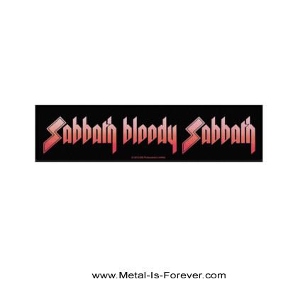 BLACK SABBATH (ブラック・サバス) SABBATH BLOODY SABBATH 「血まみれの安息日」 ストリップ・パッチ