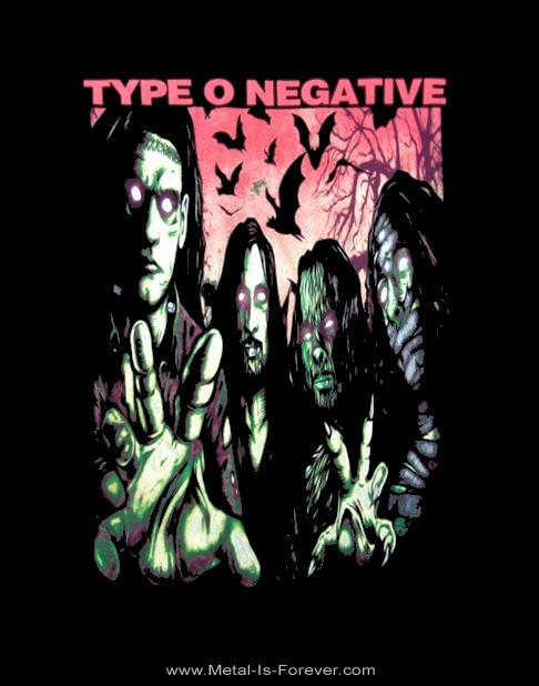 TYPE O NEGATIVE (タイプ・オー・ネガティヴ) HALLOWEEN IN HEAVEN 「ハロウィン・イン・ヘヴン」 Tシャツ