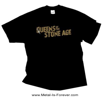 QUEENS OF THE STONE AGE (クイーンズ・オブ・ザ・ストーン・エイジ) BULLET SHOT LOGO 「バレット・ショット・ロゴ」 Tシャツ