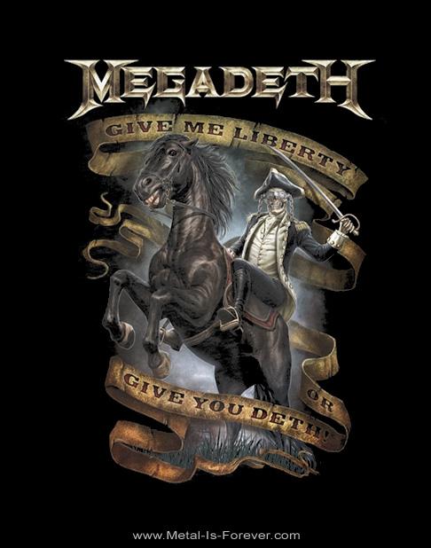 MEGADETH -メガデス- GIVE ME LIBERTY 「ギヴ・ミー・リバティ」 Tシャツ