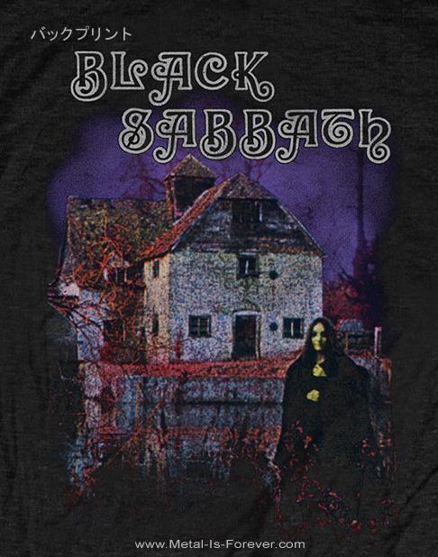 BLACK SABBATH -ブラック・サバス- BLACK SABBATH 「黒い安息日」 Tシャツ