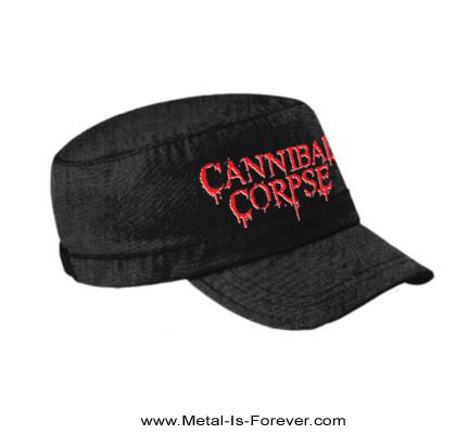 CANNIBAL CORPSE -カンニバル・コープス- LOGO 「ロゴ」 アーミー・キャップ