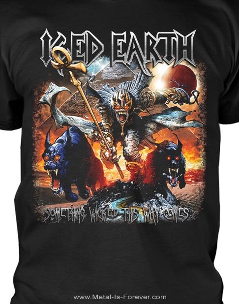 ICED EARTH (アイスド・アース) SOMETHING WICKED THIS WAY COMES 「サムシング・ウィキッド・ジス・ウェイ・カムス」 Tシャツ