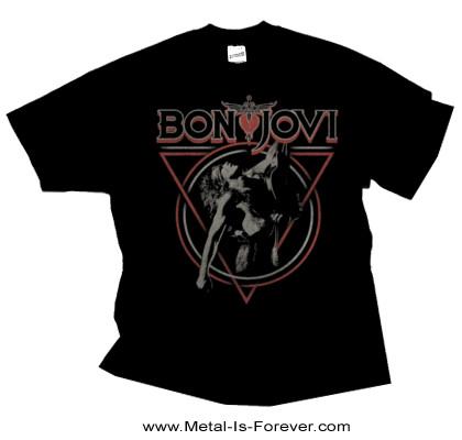 BON JOVI (ボン・ジョヴィ) TRIANGLE OVERLAP 「トライアングル・オーバーラップ」 Tシャツ