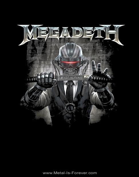 MEGADETH -メガデス- RUST IN PEACE 「ラスト・イン・ピース 〜刀〜」 Tシャツ