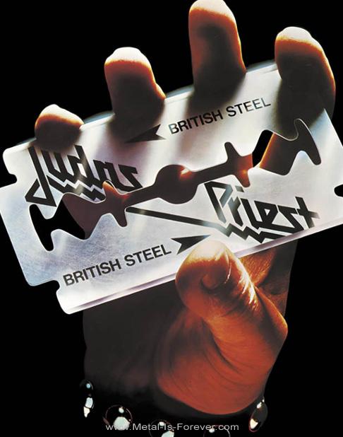 JUDAS PRIEST -ジューダス・プリースト- BRITISH STEEL 「ブリティッシュ・スティール」 バックパッチ