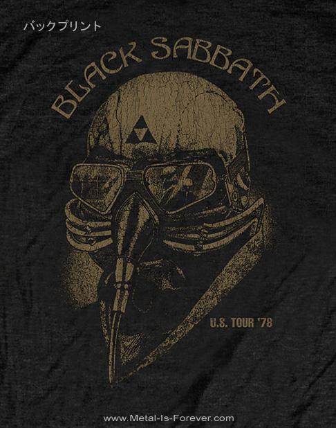 BLACK SABBATH -ブラック・サバス- 1978年 US ツアー Tシャツ(バックプリント)