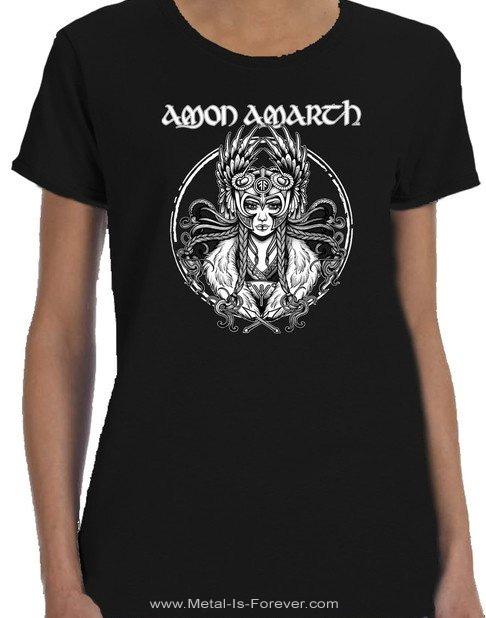 AMON AMARTH -アモン・アマース- VALKYRIA 「ヴァルキュリア」 レディースTシャツ