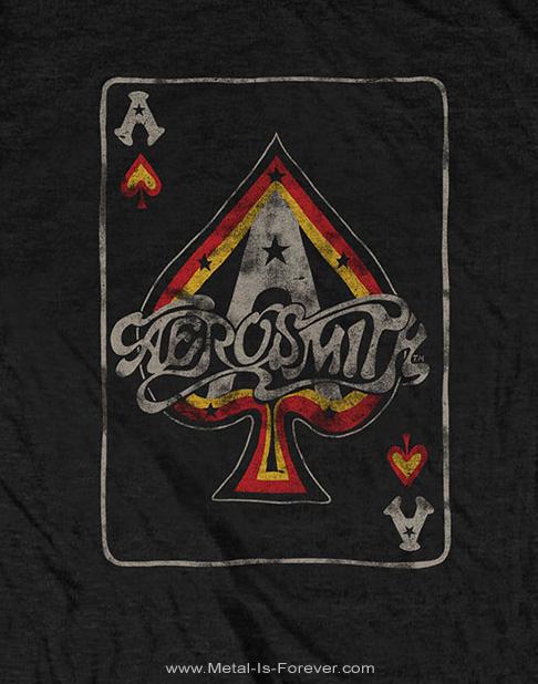 AEROSMITH (エアロスミス) ACE 「エース」 Tシャツ
