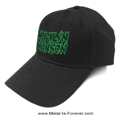 MARILYN MANSON (マリリン・マンソン) LOGO 「ロゴ」 ベースボールキャップ