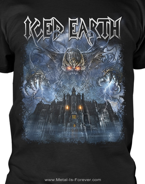 ICED EARTH (アイスド・アース) HORROR SHOW 「ホラー・ショー」 Tシャツ