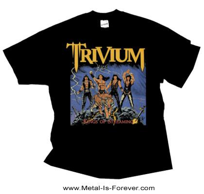 TRIVIUM (トリヴィアム) KINGS OF STREAMING 「キングス・オブ・ストリーミング」 Tシャツ