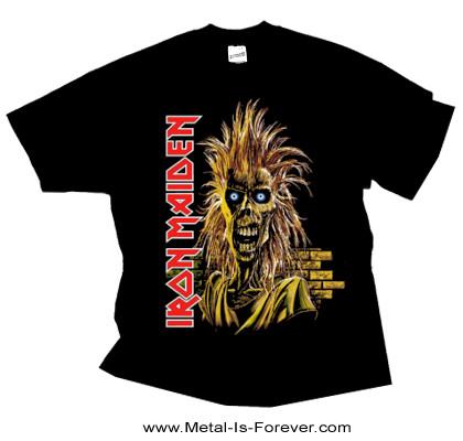 IRON MAIDEN (アイアン・メイデン) IRON MAIDEN 「鋼鉄の処女」 Tシャツ