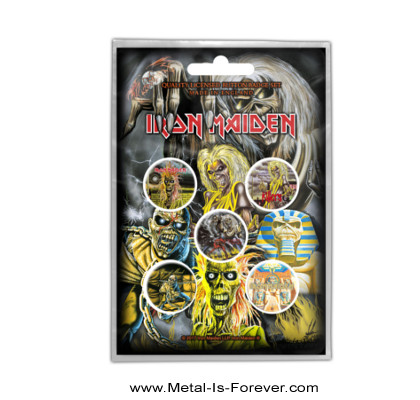 IRON MAIDEN -アイアン・メイデン- EARLY ALBUMS 「アーリー・アルバム」 バッジセット