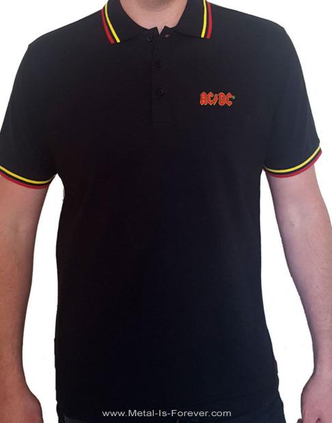 AC/DC (エーシー・ディーシー) CLASSIC LOGO 「クラシック・ロゴ」 ポロシャツ